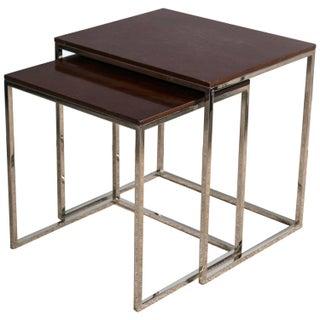 "Ralph Lauren ""Brook Street"" Nesting Tables - Pair For Sale"
