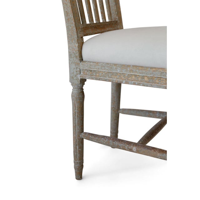 Six Swedish Dining Chairs For Sale - Image 10 of 11