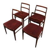 Image of Arne Vodder for Sibast Danish Model 430 Dining Chairs- Set of 4 For Sale