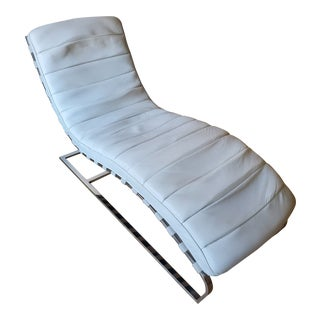 Mid-Century Milo Baughman Chaise For Sale