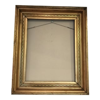 Aesthetic Movement Gilt Frame For Sale