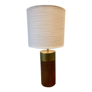 Mid-Century Modern Barrel Lamp For Sale