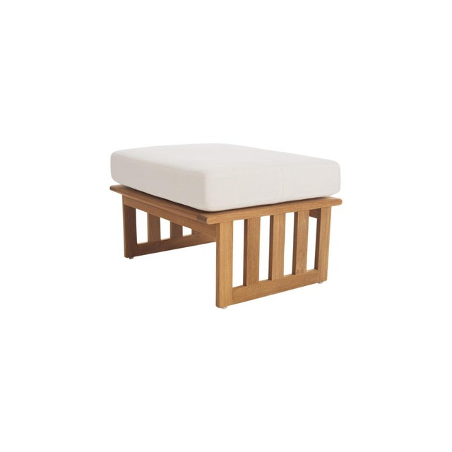 Contemporary Summit Furniture Sources Footrest For Sale - Image 3 of 3
