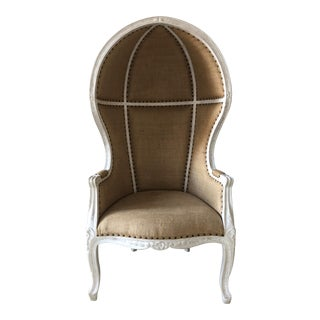 Restoration Hardware French Versailles Style Dome Chair For Sale