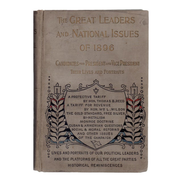 "1896 ""Great Leaders & National Issues of 1896"" For Sale"