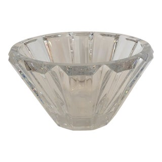 Baccarat Cut Crystal Bowl For Sale