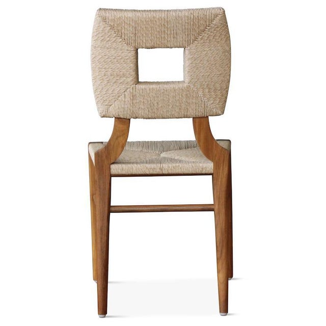 """2010s Outdoor """"How to Marry a Millionaire"""" Dining Chair in Charcoal or Sand For Sale - Image 5 of 6"""