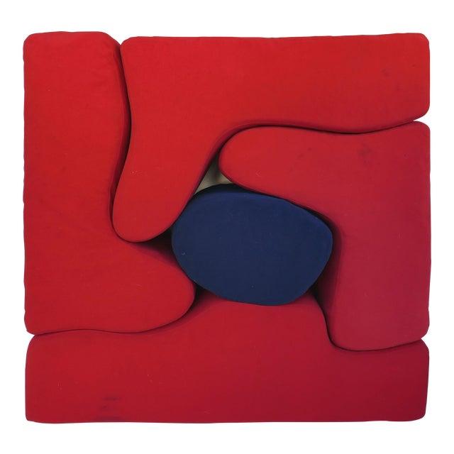 Knoll Roberto Matta Malitte Modular Lounge Furniture - Set of 5 For Sale