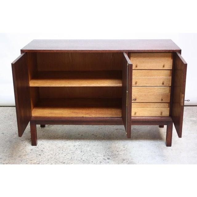 Danish Cabinet Maker Custom Oak Sideboard - Image 9 of 11