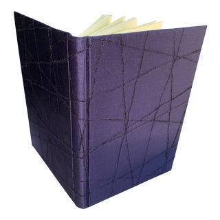 Fabric-Covered Diary For Sale