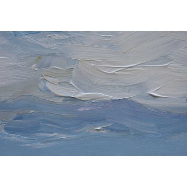 Stephen Remick Cloud Study 'Float' Contemporary Painting by Stephen Remick For Sale - Image 4 of 8