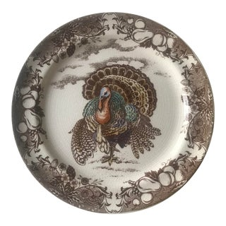 Pottery Barn Turkey Plate For Sale