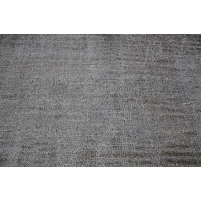 Tribal Turkish Antique Wool Floor Rug - 5′6″ × 9′5″ For Sale - Image 4 of 7