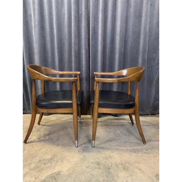 Metal Mid-Century Modern Boling Chair Co. Sculptural Arm Chairs - a Pair For Sale - Image 7 of 12