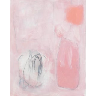 """Sarah Trundle, """"Untitled: In Peach"""", Contemporary Abstract Painting For Sale"""