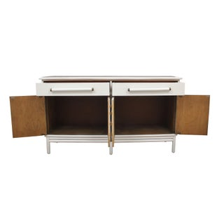 1990s Geometric Bamboo Credenza Preview