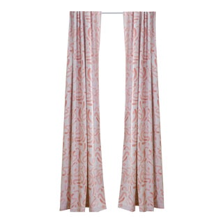 "Pepper Hockney 50"" x 108"" Curtains - 2 Panels For Sale"