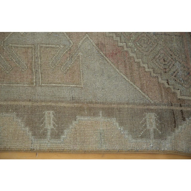 "Textile Distressed Oushak Runner - 4'7"" X 10'8"" For Sale - Image 7 of 8"