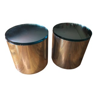 1970s Modern Paul Mayen for Habitat Side Tables - a Pair For Sale