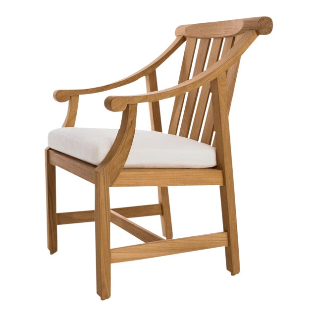 "Summit Furniture First Cabin ""Ski Jump"" Dining Arm Chair For Sale"