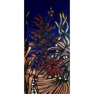 """Below the Waves II"" Kaleidoscopic Perspective Series Original Artwork by Ron Curlee For Sale"