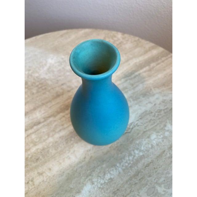 Van Briggle Aqua Art Pottery Vase For Sale In San Diego - Image 6 of 9
