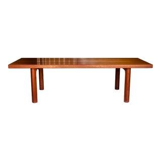 20th Century Danish Modern Teak Coffee Table or Bench For Sale