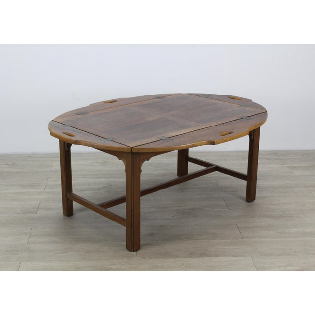 Mid-Century Walnut Tray Table For Sale - Image 11 of 12