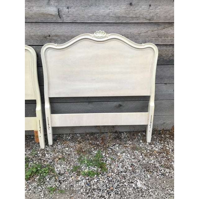 French Provincial Drexel French Provincial Touraine Twin Head Boards - a Pair For Sale - Image 3 of 10