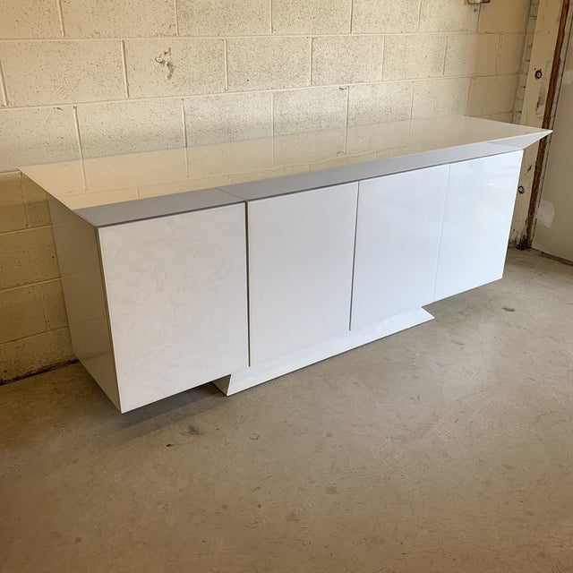 Contemporary Large Contemporary Credenza For Sale - Image 3 of 9