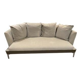 Contemporary Flexform Sofa in Camel For Sale