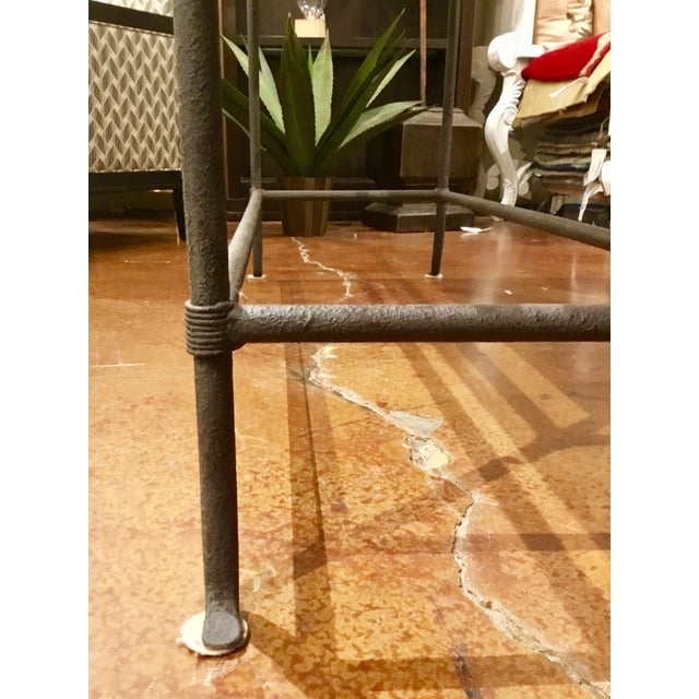 Currey & Co. Aquarius Console Table For Sale - Image 10 of 10