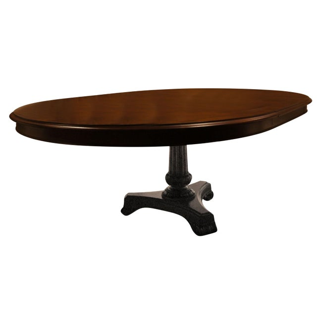 Hickory Chair Mahogany Dining Table - Image 1 of 6