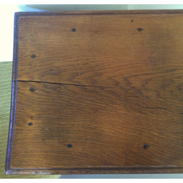 19th C. American Table / Bench For Sale - Image 4 of 7