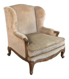 Image of Brown Wingback Chairs