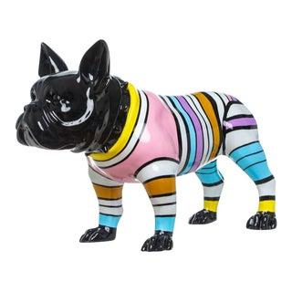 "Interior Illusions Plus Stripe Bull Dog - 24"" long For Sale"