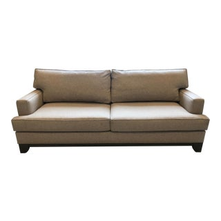 Modern Gray Custom Sofa For Sale
