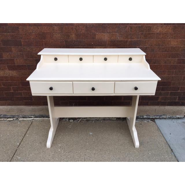Vintage Painted Writing Desk - Image 3 of 6