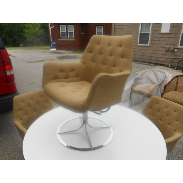 DUX Bruno Mathsson for Dux Chairs & Herman Miller Table For Sale - Image 4 of 11