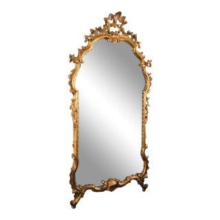 Antique Italian Rococo Mirror For Sale
