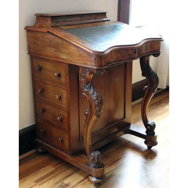 Victorian Davenport Writing Desk - Image 2 of 11