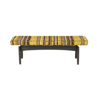 Vintage Jens Risom-style Bench For Sale