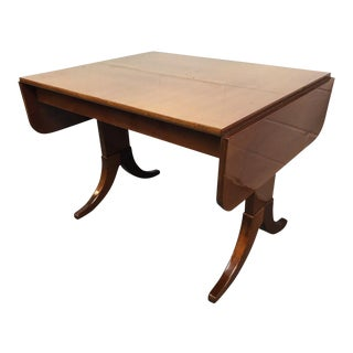 Vintage Mid-Century Danish Teak Dining Table For Sale