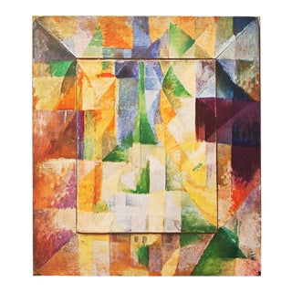"1947 Robert Delaunay ""The Windows"", Original Parisian Lithograph For Sale"