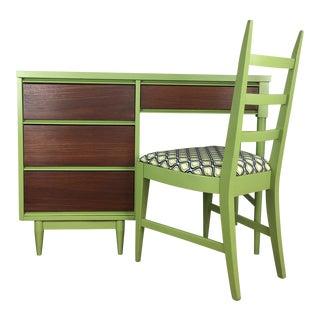 Mid Century Modern Desk & Chair