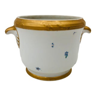Antique Porcelain Cache Pot For Sale