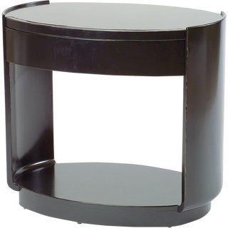 McGuire Barbara Barry Oval Bedside Table