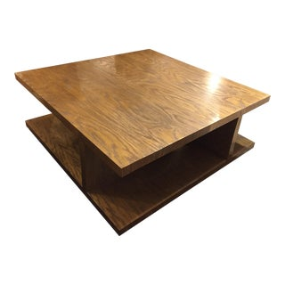 Kreiss Contemporary Square Cocktail Table
