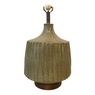 David Cressy Ceramic Lamp For Sale