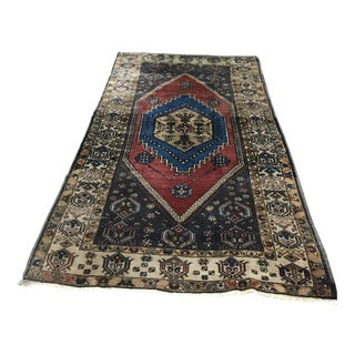 "Anatolian Yahyali Wool Rug - 45"" x 78"" For Sale"
